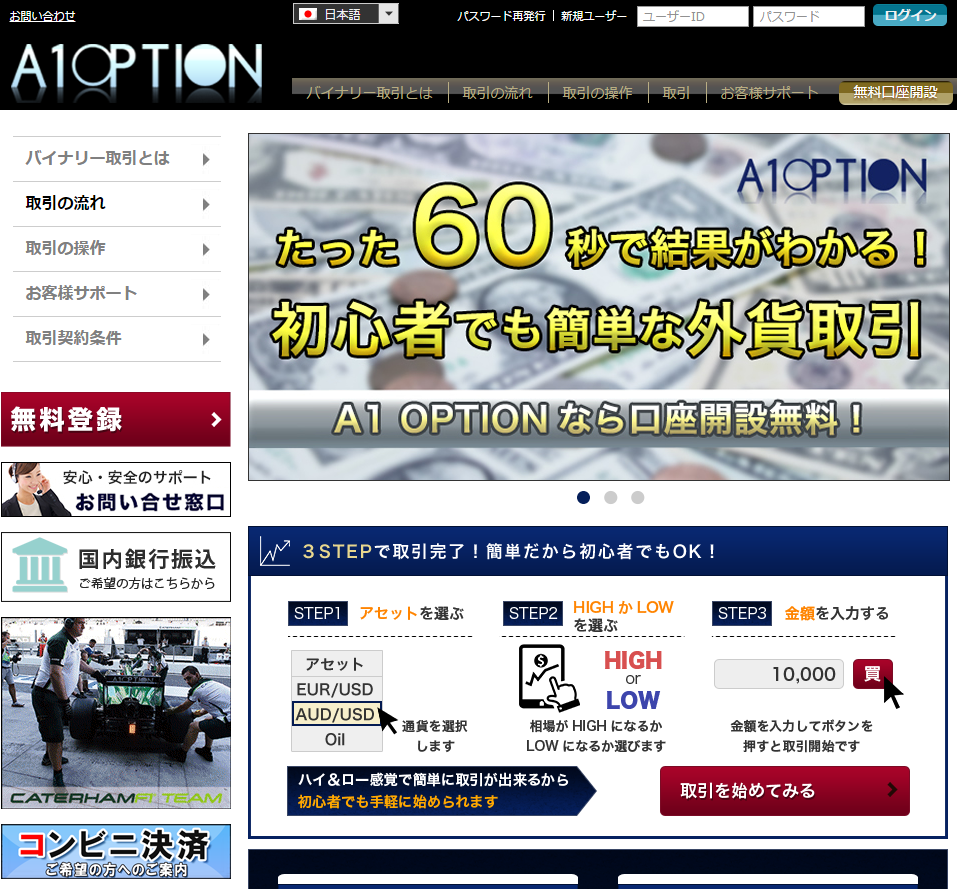 A1オプション(A1option)