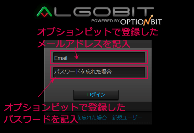 Algobit Login